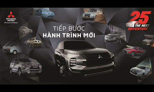 Mitsubishi Việt Nam tung khuyến mãi lớn kỷ niệm 25 năm hoạt động tại thị trường Việt Nam