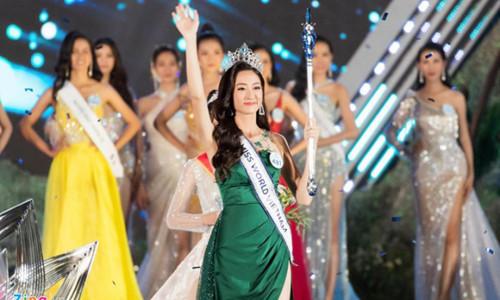Hoa hậu Lương Thùy Linh là sinh viên giỏi ở ĐH Ngoại thương