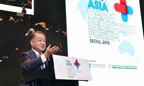 Gần 100 chuyên gia các nước tham dự Diễn đàn Giảm thiểu Tác hại châu Á tại Hàn Quốc