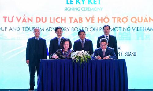 Visa và Hội đồng Tư vấn Du lịch kí thỏa thuận hợp tác quảng bá, thu hút khách du lịch quốc tế đến Việt Nam