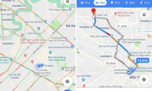 Google Maps ra mắt nhiều tính năng cho người đi xe máy tại Việt Nam